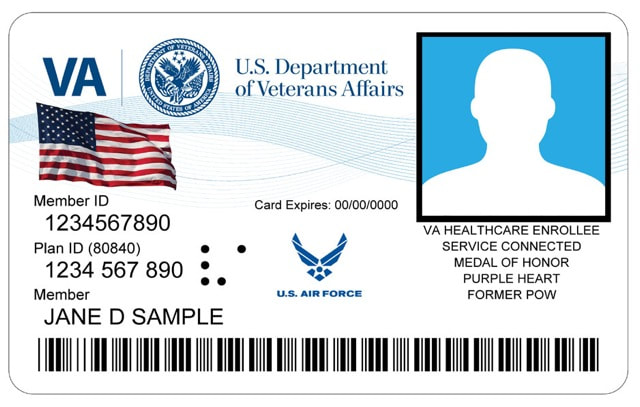VA VETERAN ID CARD - National Postal Mail Handlers Union